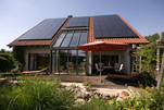 Photovoltaikanlage, gefördert vom Erneuerbare-Energien-Gesetz
