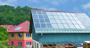 Dachintegrierte Photovoltaik