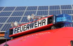 Brandschutz vor Photovoltaikanlage