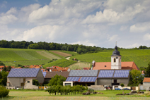 Photovoltaik im Land