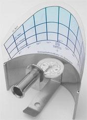 Sonnenbahnindikator zur Feststellung der Verschattung Photovoltaik.