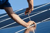 Bild: Solarmodule auf dem Dach